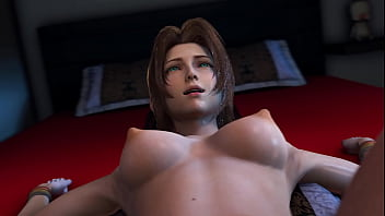 Aerith's Clarity in the Cloud - Final Fantasy