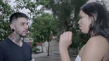 50tinha - Brazilian slut latina Lorena fucks for money 12 min