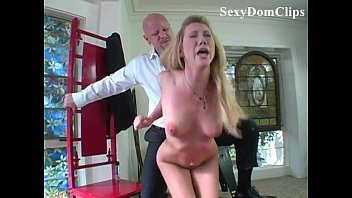 Spanked hard and fucked Samantha sin dominated, spanked and roughly fucked