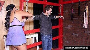 Cambodian Cougar Maxine X Traps, a. & Bangs A Burglar!