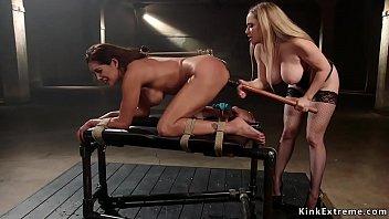 Busty lesbian dom anal bangs big ass sub
