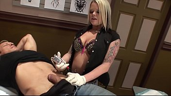 Riley Would Rather Suck A Big Cock Than Finish A Tattoo