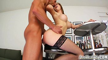 Panamanian ass Ass traffic cute redhead wears cum on face after hard ass fuck