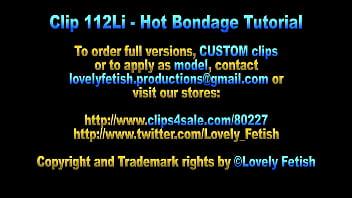 Clip 112Li Sweet Bondage Tutorial From