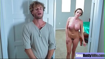 Sex Tape Action With Busty Horny Sluty Housewife (Ariella Ferrera) video-04