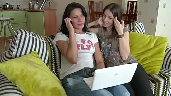 Two hot teenage girls fuck with a classmate - SWEETGIRLCAM.COM