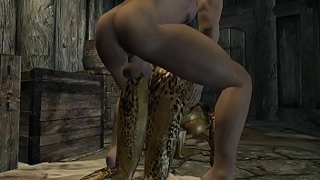 The female Argonian and Demis Episode 1 preview image