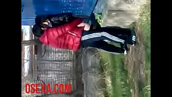 Uzbeco scopata per strada in una telecamera nascosta