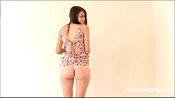 Tall lanky amateur Meg learns PORN BIZ