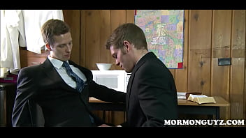 Mormon Boy Pleasures Twink Study Buddy