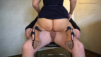 Bridesmaid gets her pussy licked and rides the groom's strong cock until he cums - projectfundiary