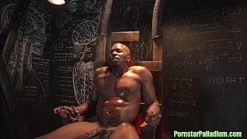 Pornstar electric chair domination