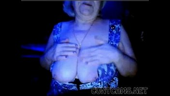 Granny Flashes Tits on Webcam - More at cuntcams.net tumblr xxx video
