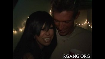 Girl and guy in oral-service