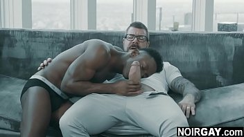 Married daddy proposing to his black gay lover - gay black on white