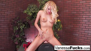 Sybian nude Sexy vanessa decides to go all out and takes on the sybian with her tight wet pussy