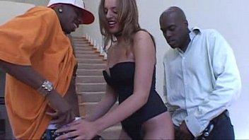 Lauren Vaughn threesome interracial