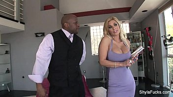 Pornstar stylez Shyla stylez takes a big cock