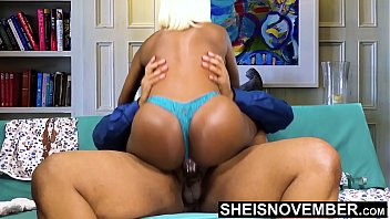 8389 BBC Creampie Cum Deep Inside Young Tiny Ebony Pussy Riding Big Dick Hardcore With Panties On , Msnovember Fucking Cowgirl Poking Big Juicy Ass Butt Out , Hardcore Sex Ride Cum Dripping Out Vagina  Fuck HD Sheisnovember preview