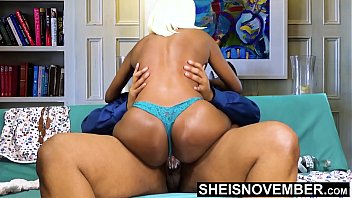 18389 BBC Creampie Cum Deep Inside Young Tiny Ebony Pussy Riding Big Dick Hardcore With Panties On , Msnovember Fucking Cowgirl Poking Big Juicy Ass Butt Out , Hardcore Sex Ride Cum Dripping Out Vagina  Fuck HD Sheisnovember preview