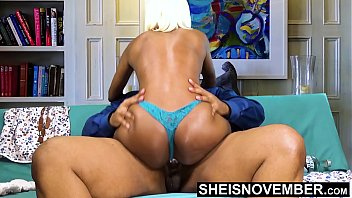 15452 BBC Creampie Cum Deep Inside Young Tiny Ebony Pussy Riding Big Dick Hardcore With Panties On , Msnovember Fucking Cowgirl Poking Big Juicy Ass Butt Out , Hardcore Sex Ride Cum Dripping Out Vagina  Fuck HD Sheisnovember preview