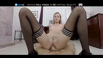 Badoinkvr Pov O ffice Fuck With Hot Blonde Hal  Hot Blonde Haley Reed