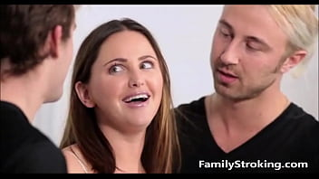 Teen Step Sister Gets Punish Fucked By Both Her Brothers - FamilyStroking.com