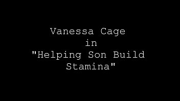 Vanessa Cage Helps Her Son Build His Stamina! thumbnail
