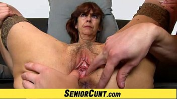 Fuc up cunt - Grandma lada a zoomed old hairy vagina fingering