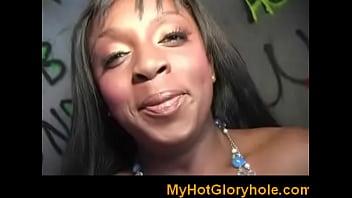 Only gloryhole blowjob black cutie 21 - 69VClub.Com