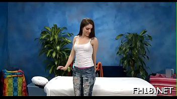 Glamorous 18 year old hungarian princess gets screwed hard by her massage therapist