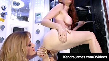 Wet Angela Sommers Pleasures Pussy Loving Red Kendra James!