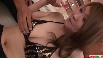 Naked Arisa Kuroki gets men to fuck her hard  - More at Japanesemamas com