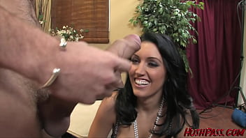 Hot Busty Dylan Ryder Rides The Whitezilla Thumb
