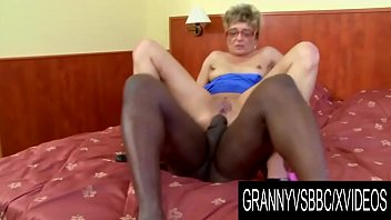 Granny Vs BBC - Grandma Jessey Gets Anally Destroyed with a Thick Dark Dong