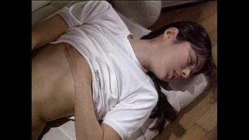 Small tits asian hottie masturbating on the bed  480p