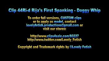 Clip 44Ri-d Rijas First Spanking - Doggy Whip - MC - Full Version Sale: $10