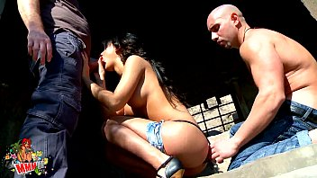 First double penetration of spanish pornstar Suzy Gala Preview