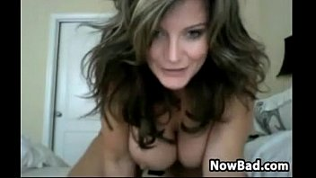 Fit And Busty MILF Doing A Cam Show
