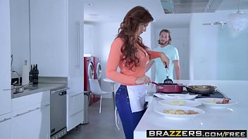 Brazzers - Mommy Got Boobs - My Three Stepsons scene starring Syren De Mer Brad Knight Lucas Frost a