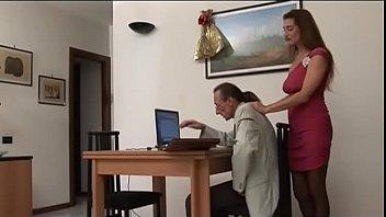 The strange job interview! Hot Milf!