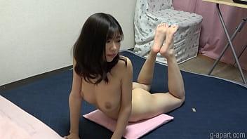 Yuuna Ishikawa Naked Yoga Exercise