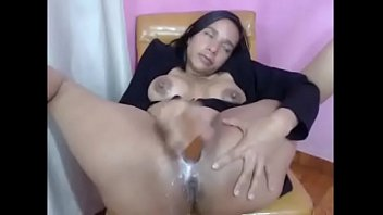 Amatuer masturbation videos Hot chick from hotpornocams.com squirty titty milk over herself