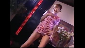 Chinese sexy dress dance