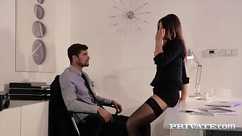 Lady barbara footjob Private.com - gorgeous secretary barbara bieber fucks her boss