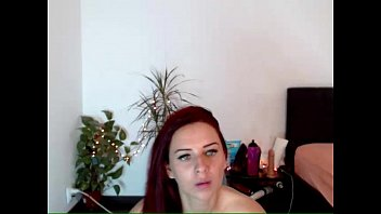Red Haired Girl Teases on BasedCams.com