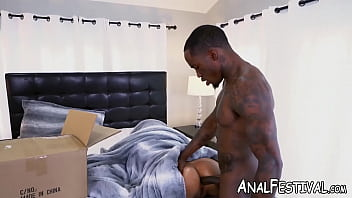 Round booty beauty Luna Star gets her ass BBC fucked