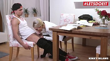 Mom son sex tapes Letsdoeit - hot big ass milf mom vanessa k. tease and bangs with stepson at the office