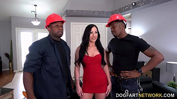 Trimmer Guys With Big Black Cock DP Horny Cougar Jennifer White