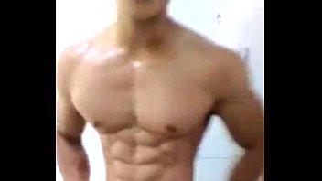 Gay muscled cum Asian muscle cum